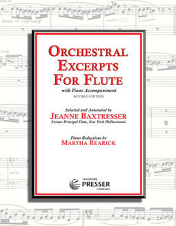 Orchestral Excerpts for Flute - FLUTISTRY BOSTON