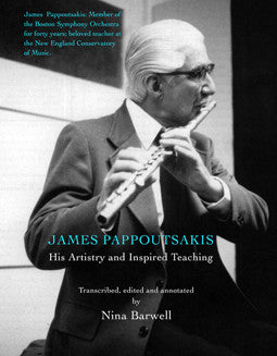 Barwell - Pappoutsakis: His Artistry and Inspired Teaching - FLUTISTRY BOSTON