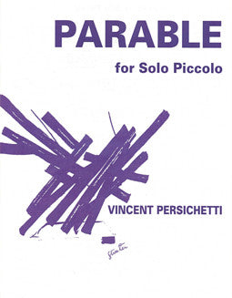Persichetti, V. - Parable XII - FLUTISTRY BOSTON