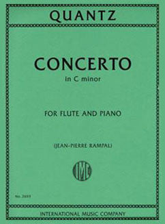 Quantz, J.J. - Concerto in C minor - FLUTISTRY BOSTON