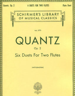 Quantz, J.J. - Six Duets - FLUTISTRY BOSTON