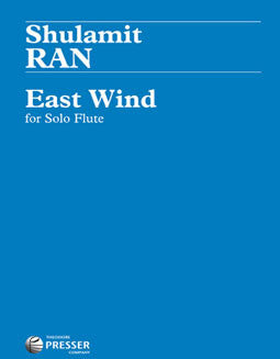 Ran, S. - East Wind - FLUTISTRY BOSTON