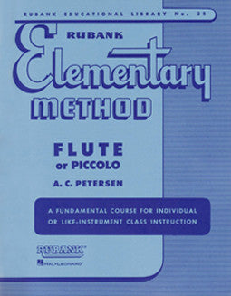 Rubank - Elementary Method for flute or piccolo