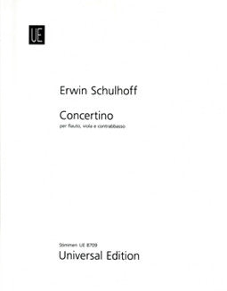 Schulhoff, E. - Concertino (Parts) - FLUTISTRY BOSTON