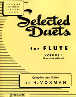 Selected Duets for Flute - Vol 1 - FLUTISTRY BOSTON