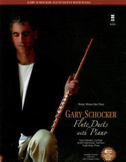 Schocker, G. - Flute Duets with Piano - FLUTISTRY BOSTON