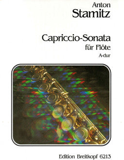 Stamitz, A. -  Capriccio Sonata in A major - FLUTISTRY BOSTON