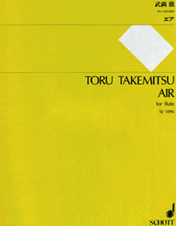 Takemitsu, T. - Air - FLUTISTRY BOSTON