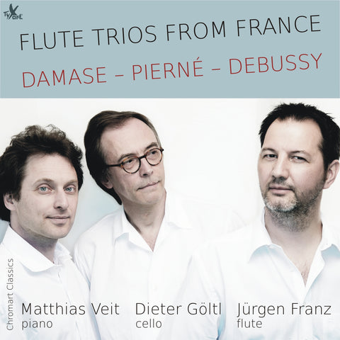 Flute Trios from France CD (Jürgen Franz)