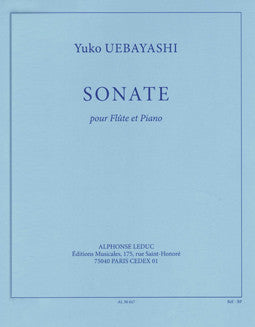 Uebayashi, Y. - Sonate - FLUTISTRY BOSTON