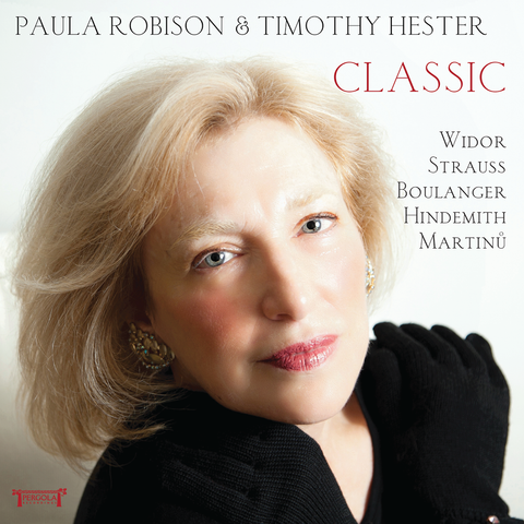 Classic CD (Paula Robison) - FLUTISTRY BOSTON