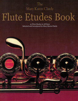 Clardy, M.K. - The Flute Etudes Book - FLUTISTRY BOSTON