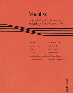 Vocalise: Songs Without Words - FLUTISTRY BOSTON