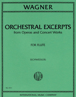 Wagner, R. - Orchestral Excerpts - FLUTISTRY BOSTON