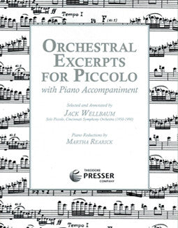 Orchestral Excerpts for Piccolo - FLUTISTRY BOSTON