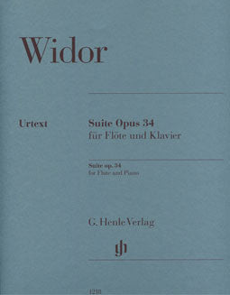 Widor, C. - Suite, op. 34 - FLUTISTRY BOSTON