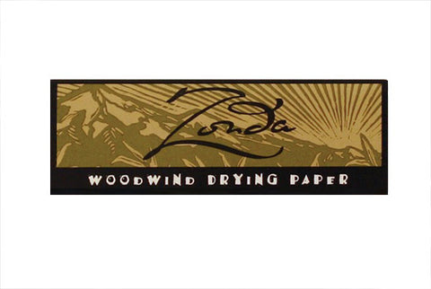 Zonda Woodwind Drying Papers - FLUTISTRY BOSTON