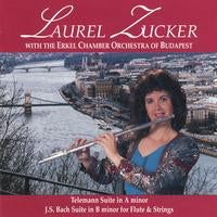 Laurel Zucker with the Erkel Chamber Orchestra of Budapest