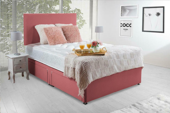 Esme Pink Divan Bed Set