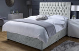 Sandringham Divan Bed Set with Chesterfield Headboard