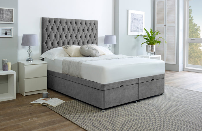 Henry Chesterfield Ottoman Storage Bed