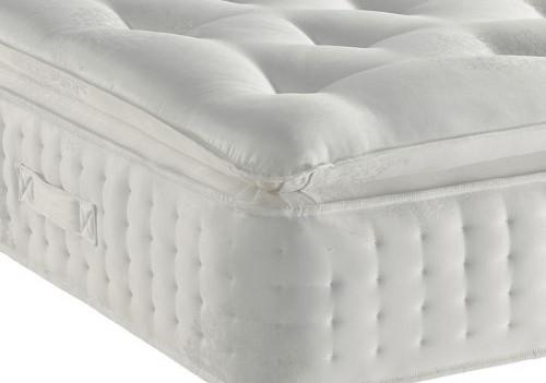 Mattress - Majestic Organic Pocket Sprung Pillow Top Mattress