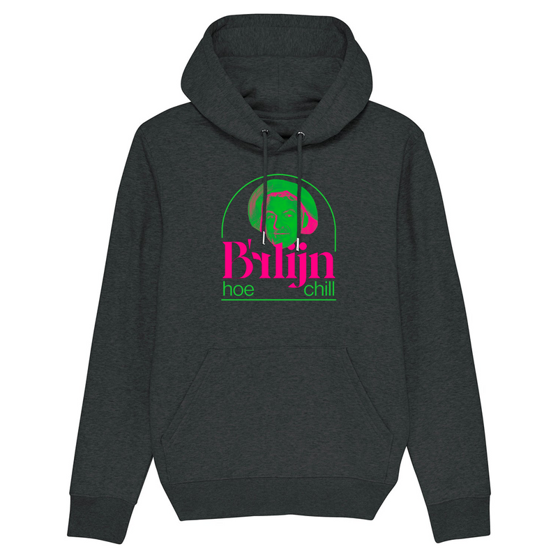 B'rlijn Hoodie Dark Heather Grey