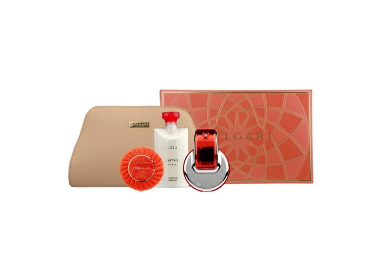 Omnia Coral 65ml 4pc gift set