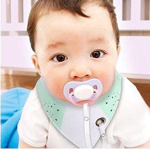 Baby Accessories - Bib With Pacifier Clip