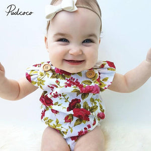 Baby Girls Jumpsuit Set