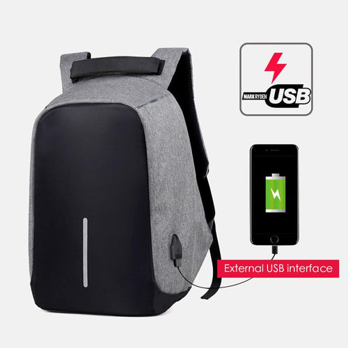 Backpack USB Charging - Anti-Theft USB Backpack