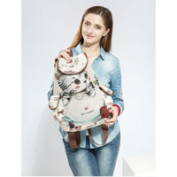 Load image into Gallery viewer, Bags & Luggages - Lovely Cat Drawstring Backpack