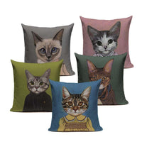 Load image into Gallery viewer, Cat Decor Pillow Covers