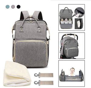 Convertible Bed Diaper Bag