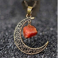 Load image into Gallery viewer, Crescent Moon Necklaces