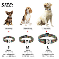 Load image into Gallery viewer, Custom Dog Collar Personalized Nylon Pet Dog Tag Collar Adjustable Engraved Puppy Cat Nameplate ID Collars For Small Large Dogs
