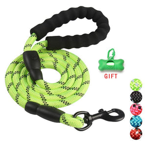 Durable Nylon Dog Harness Color 1.5M Pet Dog Leash Walking Training Leash Cats Dogs Leashes Strap Dog Belt Rope