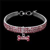 Load image into Gallery viewer, Exquisite Bling Crystal Dog Collar