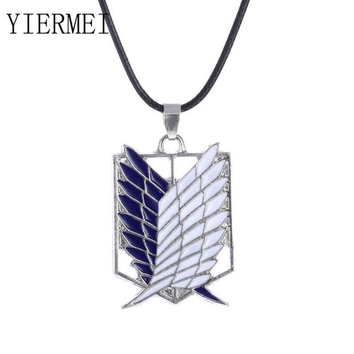 Pendant Jewellery - Anime Pendant Pendant Necklace Attack Titan Boy Scarlet Logo Necklace Inquiry Body Erwin Smith Accessories Jewelry
