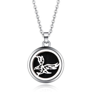 Tree Of Life Aroma Box Necklace