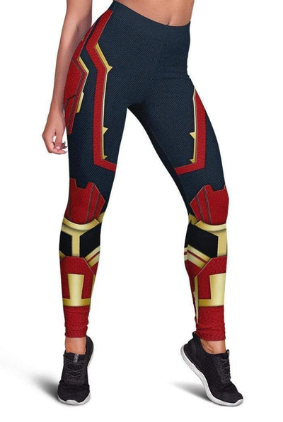CAPTAIN MARVEL Full-print Leggings HD-MV110739-LEG Leggings Leggings S