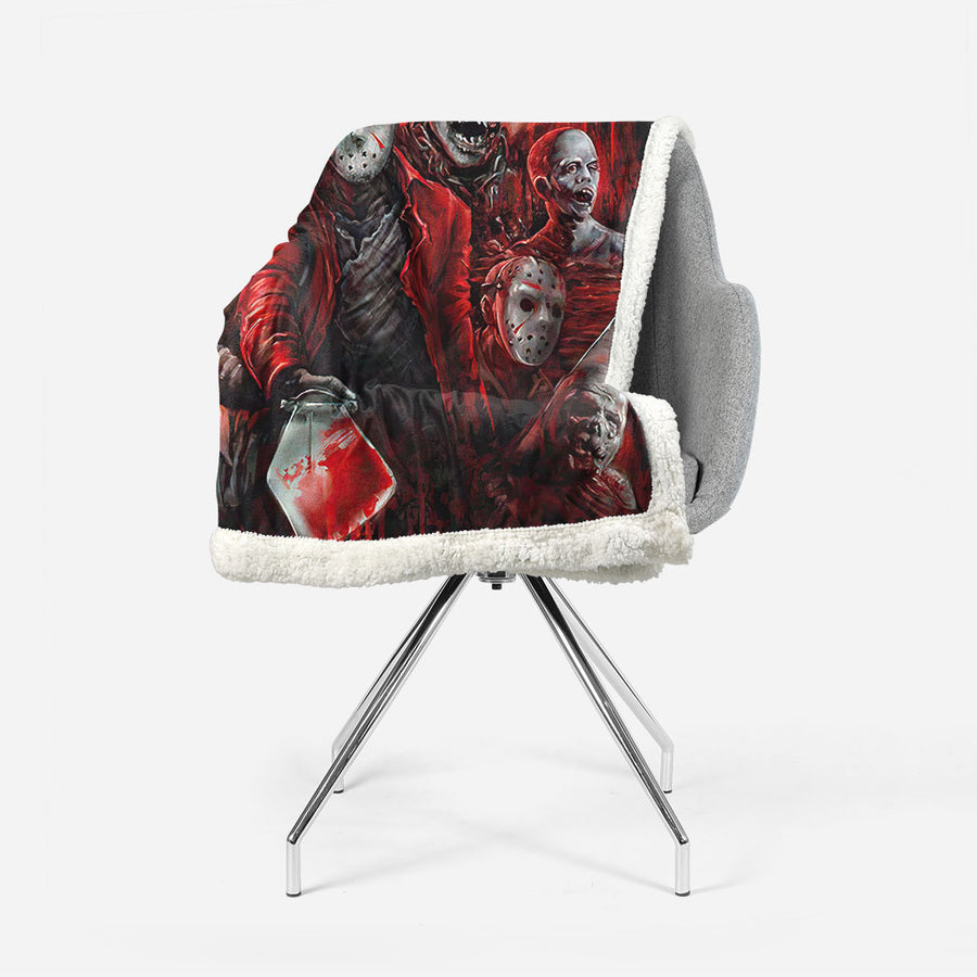 Gearhuman 3D The Office Mosaic Custom Blanket