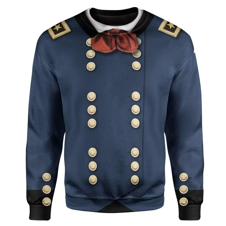 Cosplay George Armstrong Custer Custom T-Shirts Hoodies Apparel CO-TA1601201 3D Custom Fleece Hoodies Hoodie S