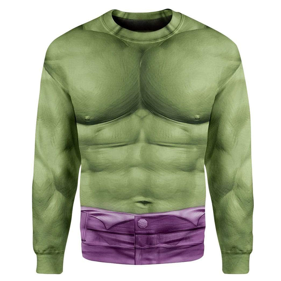Gearhumans Cosplay Incredible Hulk Custom T-Shirts Hoodies Apparel