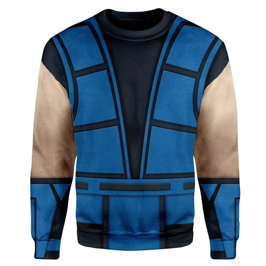 Cosplay Sub-Zero Mortal Kombat Custom T-Shirts Hoodies Apparel