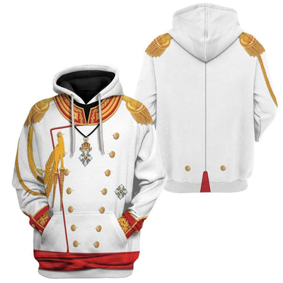 Cosplay War and Peace Prince Andrei Custom T-Shirts Hoodies Apparel CO-TA0702207 3D Custom Fleece Hoodies