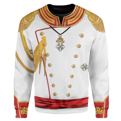 Cosplay War and Peace Prince Andrei Custom T-Shirts Hoodies Apparel CO-TA0702207 3D Custom Fleece Hoodies Long Sleeve S