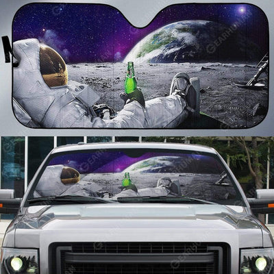 Custom Car Auto Sunshade Astronaut HD-AT0391907-SS Auto Sunshade