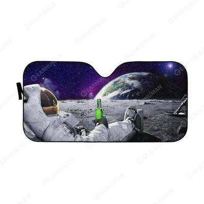 Custom Car Auto Sunshade Astronaut HD-AT0391907-SS Auto Sunshade 57''x27.5''