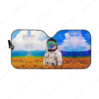 Custom Car Auto Sunshade Astronaut HD-AT0491916-SS Auto Sunshade 57''x27.5''